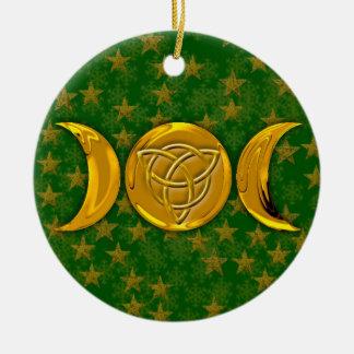 Triple Moon & Tri-Quatra #3 セラミックオーナメント