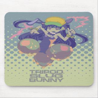 """""""TRIPOD SLUG BUNNY""""mousepad マウスパッド"""