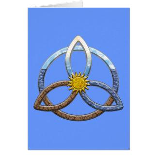 Triquetraの地球の空気水 カード