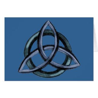 Triquetra (青い) カード