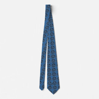 Triquetra (青い) ネクタイ