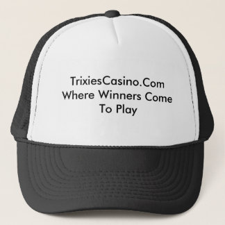 TrixiesCasino キャップ