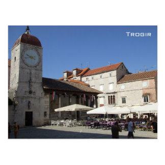 Trogir -クロアチア 葉書き