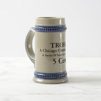 Trohaのビールステイン ビールジョッキ