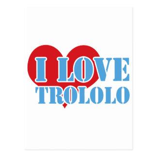 Trololo ポストカード