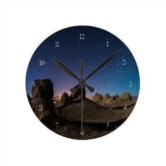 Tronaおよび銀河 ラウンド壁時計