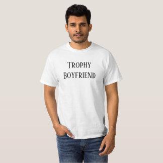 Trophy Boyfriend Christmas Holiday Gift Tee Shirt Tシャツ
