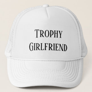 Trophy Girlfriend Christmas Holiday Gift Hat キャップ