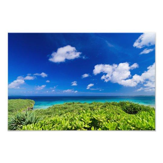 Tropical Island フォトプリント