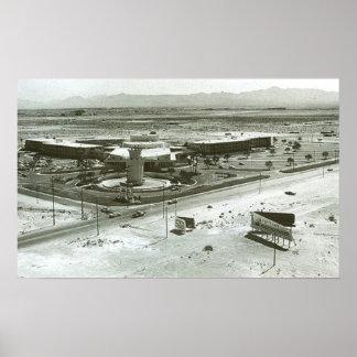 Tropicanaのホテルラスベガス、ネバダ- 1957年 ポスター