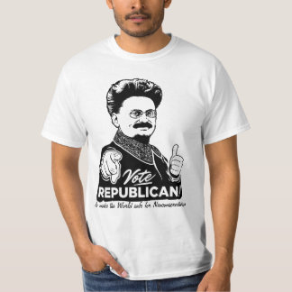 Trotskyの投票共和党員のワイシャツ Tシャツ