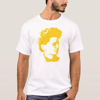 Trotskyの黄色いティー Tシャツ