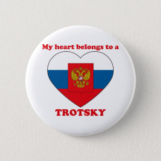 Trotsky 缶バッジ