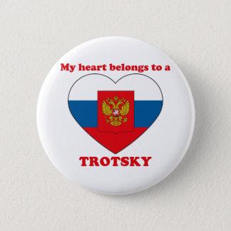 Trotsky 5.7cm 丸型バッジ