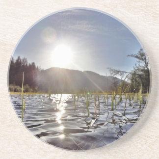 trout湖のPeacefull水 コースター