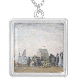 Trouville 1867年のビーチ シルバープレートネックレス