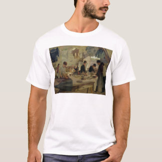 Trouville 1888年のアイロンをかける研修会 tシャツ