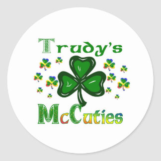 Trudys McCuties ラウンドシール