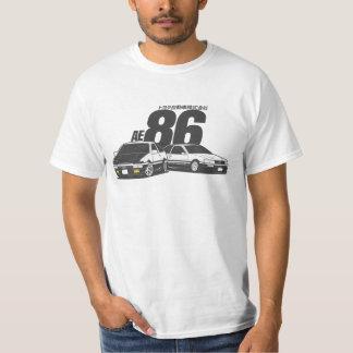 Trueno及びLevin - CarCorner Tシャツ