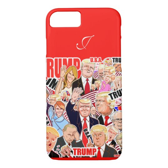 Trump and Melania and your text. President iPhone 8/7ケース