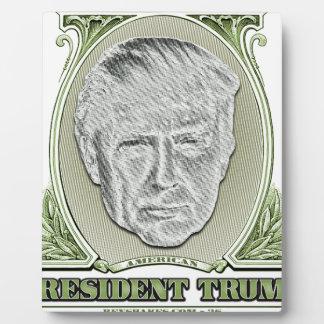 Trump Dollar大統領 フォトプラーク