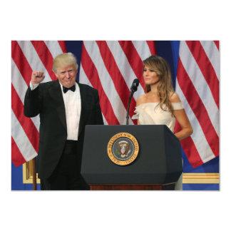 Trump Inauguration大統領及び最初女性 カード