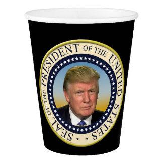 Trump Photo Presidential Seal大統領 紙コップ