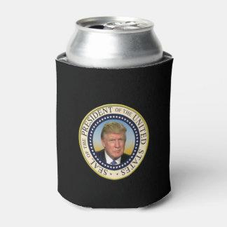Trump Photo Presidential Seal大統領 缶クーラー