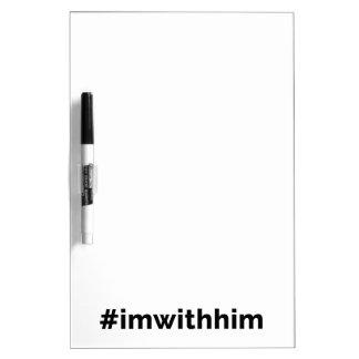 Trump Support #imwithhimの大統領 ホワイトボード