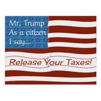 Trump Tax Day Postcard氏 ポストカード