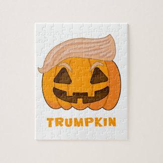 Trumpkinドナルド・トランプのカボチャ ジグソーパズル
