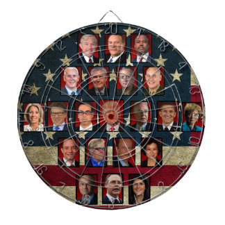 Trump's White House Cabinet ダーツボード