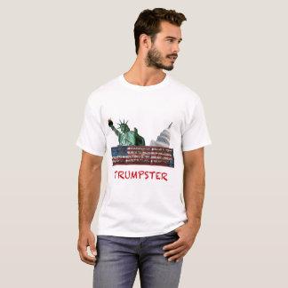 Trumpsterのティー-政治風刺 Tシャツ