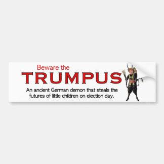 Trumpusを用心して下さい! バンパーステッカー