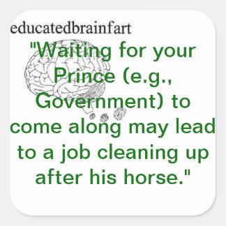 Truthあなたの王子を待っていること スクエアシール