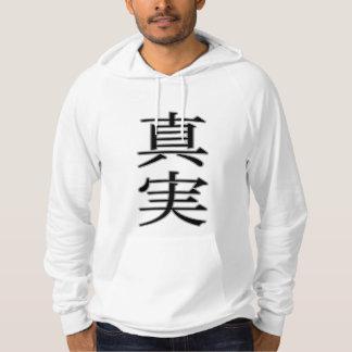 Truth -Japanese Kanji- パーカ