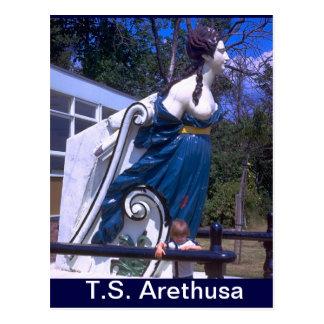 TS ArethusaのHMS Arethusaの頭首 ポストカード