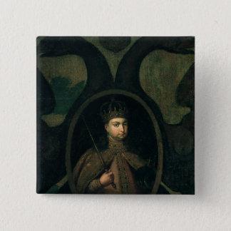 Tsarevna Sophia Alexeevnaの1680年代 5.1cm 正方形バッジ