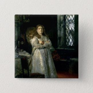 Tsarevna Sophia Alexeevna 5.1cm 正方形バッジ