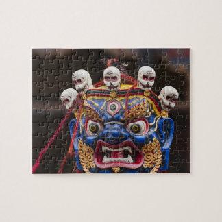 Tshechuのフェスティバル2のマスクのダンスの性能 ジグソーパズル