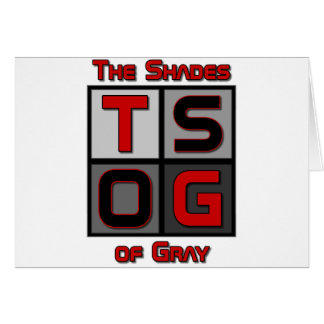 TSOG箱のロゴ カード