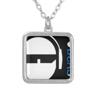 TSPのロゴ シルバープレートネックレス