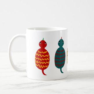 Tsuchinoko Five in a Line,illustration, コーヒーマグカップ