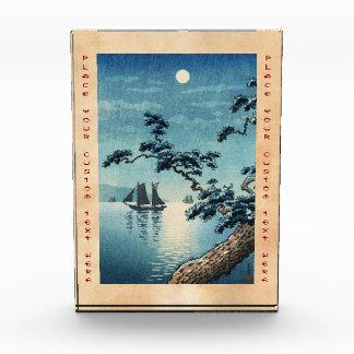 Tsuchiya Koitsu Maikoの海海岸の向こうずねのhanga 表彰盾