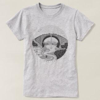 TSUJUNKYO MONOCHROME T-Shirts For Ladies Tシャツ