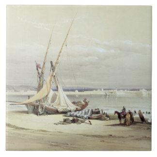 Tsurの古代タイヤ、1839年は4月27日、69をからのめっきします タイル