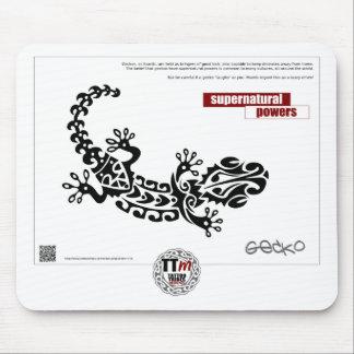 TTの意味-ヤモリ マウスパッド