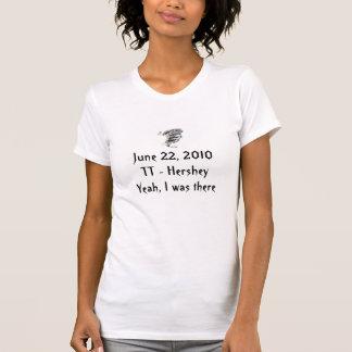 TT女性- Hersheyのトルネードティー Tシャツ