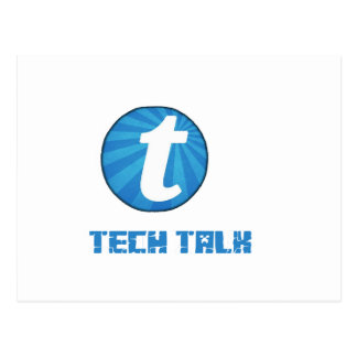 TTechの話の影 ポストカード