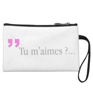 TU M'AIMESか。 フランスのな恋人愛問い合わせのクラッチ クラッチ